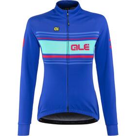 Alé Cycling Solid Sinuosa Longsleeve Jersey Women blue light-fluo pink